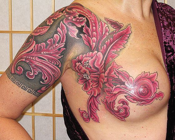 21 Inspirational And Beautiful Breast Cancer Tattoos