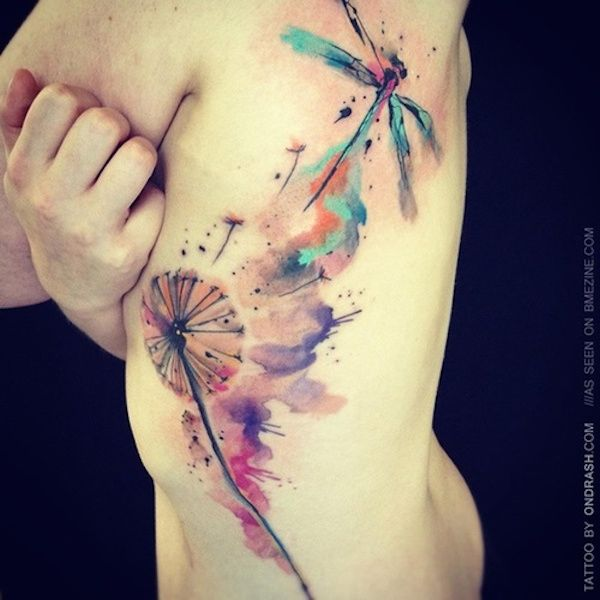 40 Original Dandelion Tattoo Designs