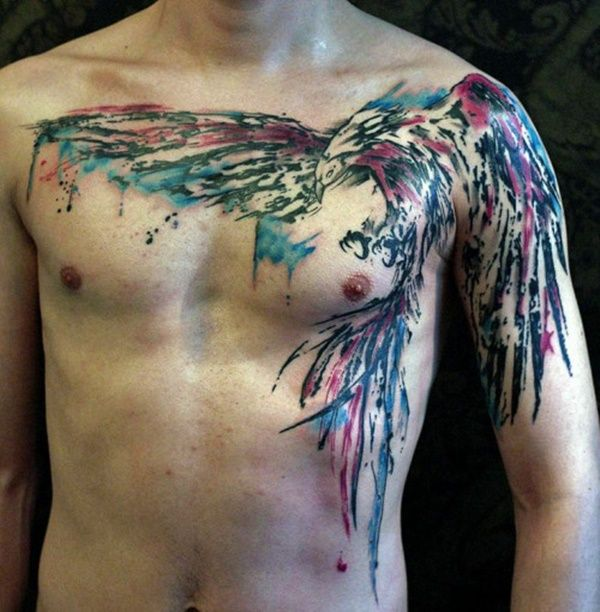Eagle Tattoos - Top 150 positions and designs
