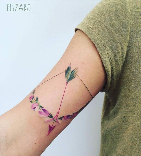 Nyilas Tattoo - 101 Most Important and Awesome Tattoos for your Sign